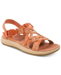 Bare Traps Woods Rebound Technology Sandals Melon Wheat