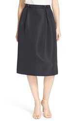 Women's Ted Baker London Double Bow Midi Skirt Black