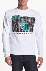 Mitchell And Ness Men's 'Vancouver Grizzlies' Sweatshirt White