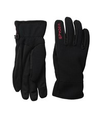 Spyder Core Sweater Conduct Glove Black Red Ski Gloves