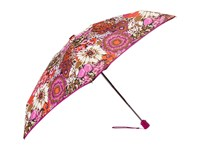 Vera Bradley Automatic Mini Umbrella Rosewood Umbrella Red