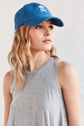 Harding Lane Embroidered Baseball Hat Blue