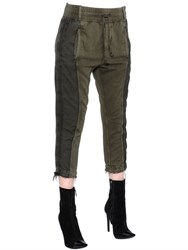 Haider Ackermann Cotton Jersey Jogging Pants