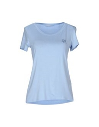 Guess By Marciano T Shirts Lilac