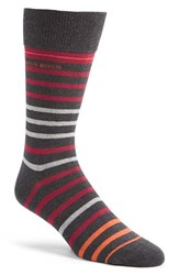 Men's Boss 'Rs Design' Stripe Socks