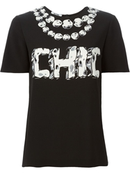 Moschino Cheap And Chic Chic Print T Shirt