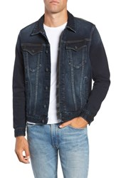 Vigoss Denim Trucker Jacket Dark Wash