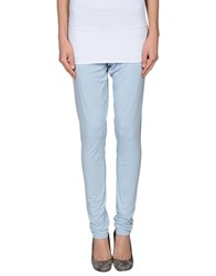 Twin Set Simona Barbieri Trousers Leggings Women Sky Blue