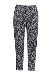 Great Plains Helsinki Contrast Trim Trousers Black