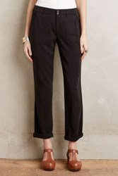 Anthropologie Pilcro Hyphen Roll Up Trousers Black 31 Pants
