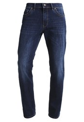 Bugatti Madrid Straight Leg Jeans Dark Blue Denim Dark Blue Denim