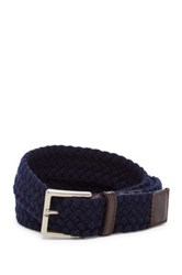 Tommy Bahama Braided Cotton Belt Big And Tall Blue