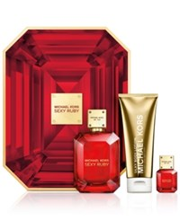 Michael Kors 3 Pc. Sexy Ruby Deluxe 3 Pc Gift Set No Color