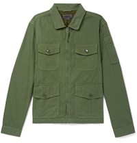 J.Crew Cotton Field Jacket Green