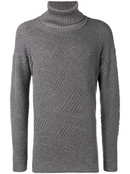 Giorgio Armani Turtleneck Sweater Grey