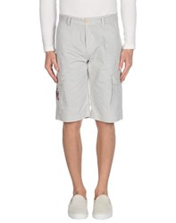 Beverly Hills Polo Club Trousers Bermuda Shorts Men Light Grey