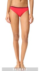 Calvin Klein Underwear Pure Seamless Bikini Evocative Red