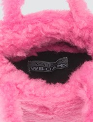Ashley Williams Kate Shearling Little Bag Pink