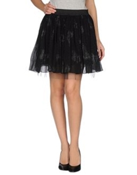 Adele Fado Mini Skirts Black