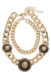 Women's Bp. Lion Chunky Statement Necklace Gold