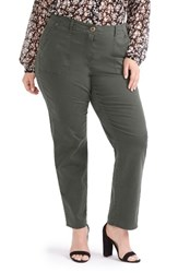 Addition Elle Love And Legend Plus Size Women's Skinny Chino Ankle Pants