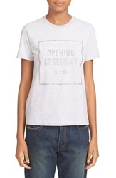 Opening Ceremony Women's 'Oc Box' Logo Tee