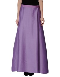 Alberta Ferretti Skirts Long Skirts Women Purple