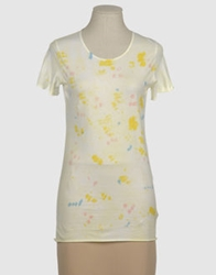 Almeria Short Sleeve T Shirts Light Yellow