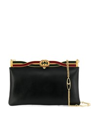 Gucci Broadway Evening Bag With Twisted Enamel Black