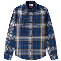 Barbour Sea Mill Shirt Blue