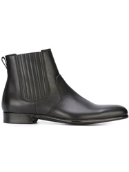 Dolce And Gabbana Classic Ankle Boots Black