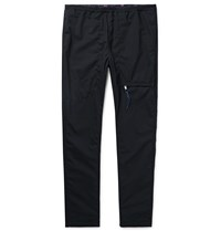 Nonnative Midnight Blue Educator Tapered Wool Blend Ripstop Trousers Blue