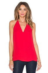 Sam Edelman Kai T Back Tank Red