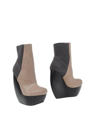 United Nude Ankle Boots Khaki