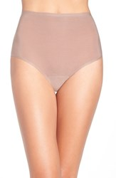 Chantelle Women's Intimates High Waist Seamless Briefs Hazelnut