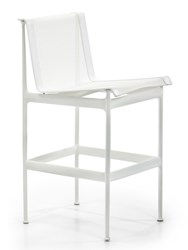 Knoll 1966 Bar Height Dining Chair White White White