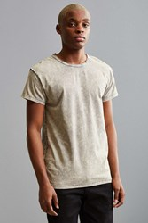 Feathers Franklin Washed Wide Neck Tee Light Grey