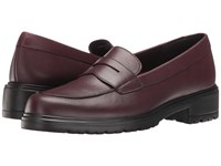 Munro American Jordi Wine Leather Women's Slip On Dress Shoes Burgundy