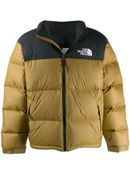 The North Face Logo Puffer Jacket Neutrals