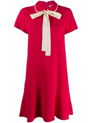 Red Valentino Bow Detail Short Dress 60