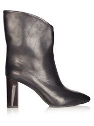 Acne Studios Ava V Cut Ankle Boots Black