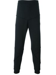 Alexander Mcqueen Raised Seam Track Pants Black