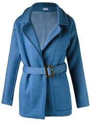Lygia And Nanny Belted Trench Coat Blue
