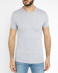 G Star Mottled Grey V Neck Stretch Base T Shirt Pack
