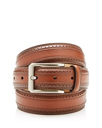 Bloomingdale's The Men's Store Wing Tip Belt