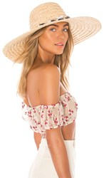 Ale By Alessandra Talisa Hat In Tan. Natural