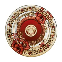 Versace Christmas Blooms Plate 18Cm