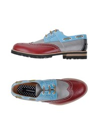 Dsquared2 Footwear Lace Up Shoes Men Maroon