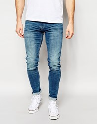 Pepe Jeans Finsbury Skinny Jeans In Powerflex Light Blue