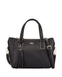 Kate Spade Alena Small Pebbled Satchel Bag Black